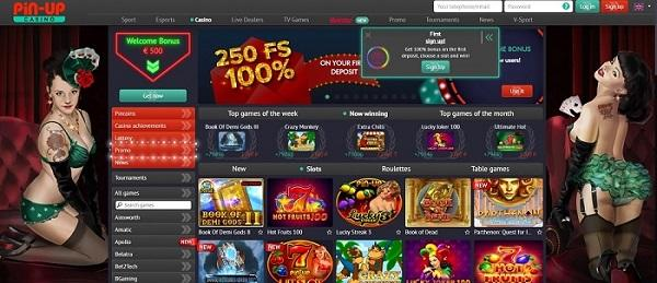 official website of Pin-Up Casino