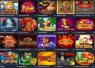 Slots Pin Up Casino